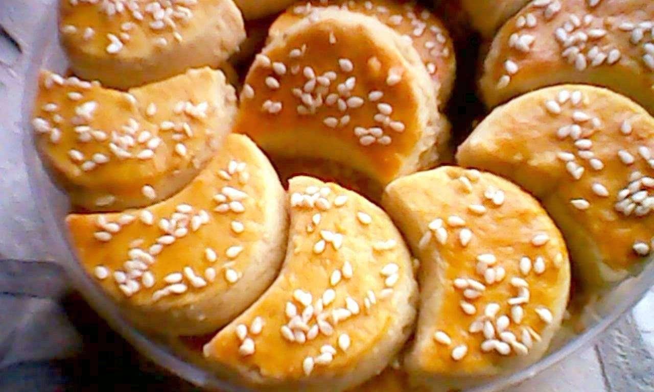 cara membuat kue kering, resep kue kering, kue kering kacang bulan sabit
