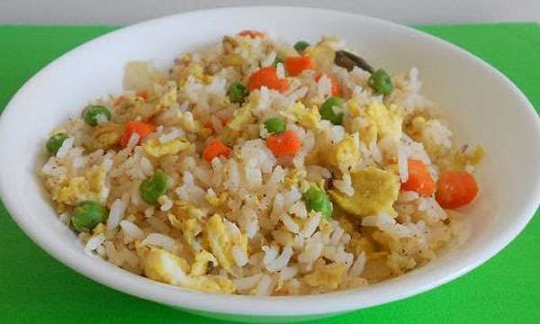 resep cara membuat nasi goreng putih, nasi goreng tanpa kecap