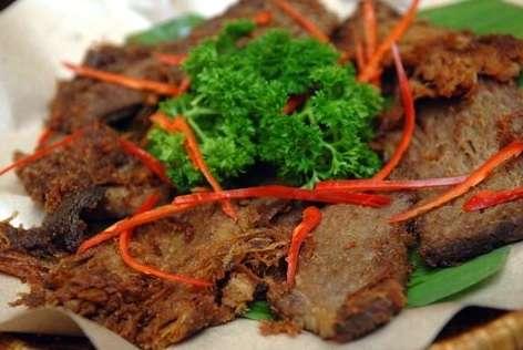 kuliner khas sunda, makanan khas sunda, cara membuat empal gepuk, resep empal gepuk, kumpulan resep masakan nusantara