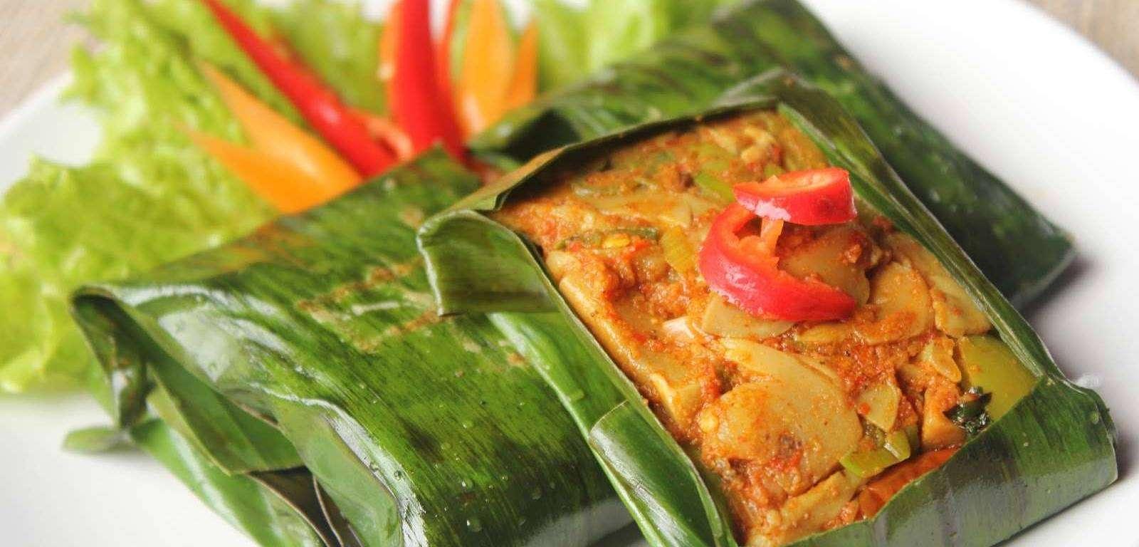 kumpulan resep masakan, belajar masak, cara membuat pepes jamur, kuliner khas sunda, kuliner nusantara