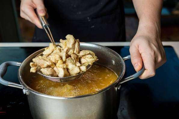 cara memasak ayam saus telur asin, resep praktis,cara memasak,kumpulan resep masakan praktis