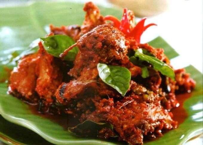 resep rica-rica ayam kemangi, cara membuat ayam rica-rica kemangi, masakan rica rica ayam