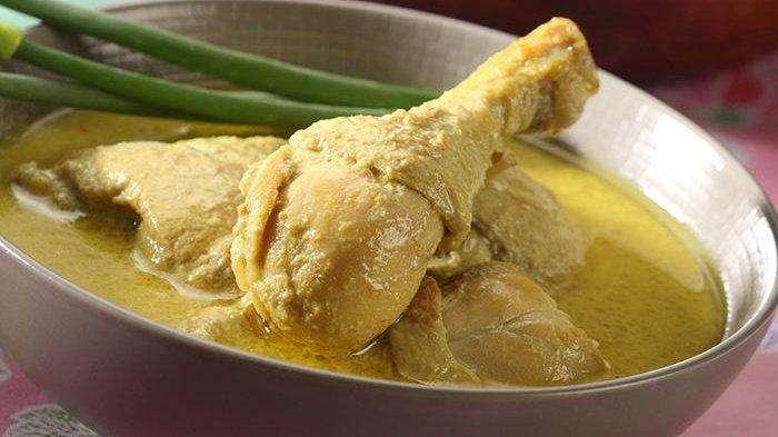 opor ayam,cara membuat opor ayam, resep opor ayam