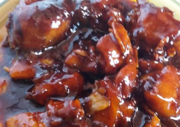 cara memasak ayam, menu ayam kecap, cara memasak ayam kecap saus tiram