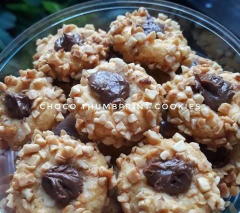 resep kue kering coklat kacang, cara membuat resep kue kering coklat kacang, chocho peanut cookies