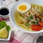 resep soto ayam kampung, cara membuat soto ayam