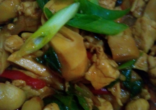 resep masakan ayam fillet jamur